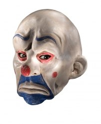 Karneval Halloween Maske THE JOKER CLOWN