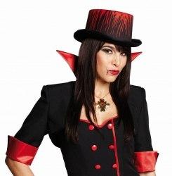Karneval Halloween Hut Blutiger Zylinder