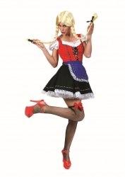 Karneval Damen Kostüm Tiroler Dirndl Helga