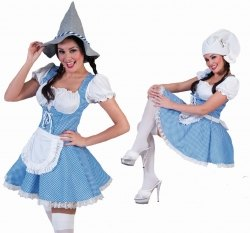 Karneval Damen Kostüm Sexy Dirndl Frieda