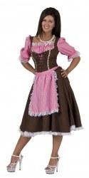 Karneval Damen Kostüm Dirndl Tirol Lady