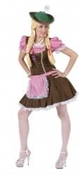 Karneval Damen Kostüm Dirndl Sexy Tirol