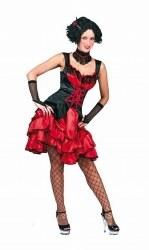 Karneval Damen Kostüm Saloon Girl