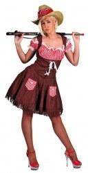 Karneval Damen Kostüm Cowgirl DENISE