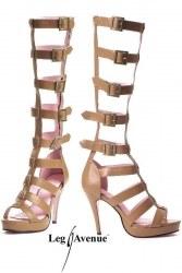 Leg Avenue Schuhe Roma braun Größe 37