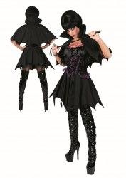Karneval Halloween Damen Kostüm Gothic Vamp