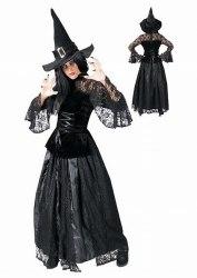 Karneval Halloween Damen Kostüm Hexe CHRISTINE