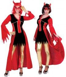 Karneval Damen Kostüm Teufelin Ava