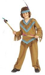 Karneval Jungen Kostüm Indianer Kuno