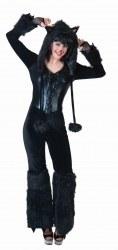 Karneval Damen Kostüm Katze Cathy