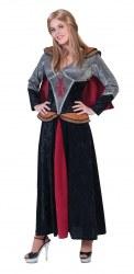 Karneval Damen Kostüm Mittelalter Ritter Lady Laura