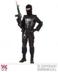 Karneval Jungen Kostüm Swat Agent