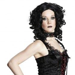 Karneval Halloween Damen Perücke Gothic Edwardina