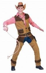 Oktoberfest Herren Trachtenhemd Cowboy
