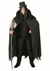 Karneval Halloween Cape Midnight Vampire