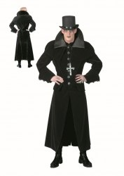 Karneval Halloween Herren Kostüm Luxus Gothic Jacket