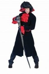 Karneval Halloween Herren Kostüm Vampir Jacket Gothic