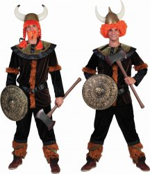 Karneval Herren Kostüm Wikinger