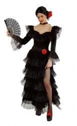 Karneval Damen Kostüm Spanierin Senorita Deluxe