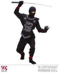 Widmann Karneval Jungen Kostüm Schwarzer Ninja