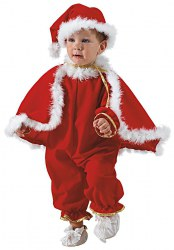 Karneval Baby Kostüm Santa Claus
