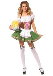 Leg Avenue Karneval Damen Kostüm Dirndl Gretchen