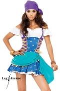 Leg Avenue Damen Kostüm Zigeuner GYPSY PRINCESS