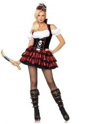 Leg Avenue Karneval Damen Kostüm Piratin Shipwreck