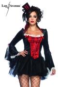 Leg Avenue Karneval Damen Kostüm Vampir TRANSYLVANIA TEMPTRESS