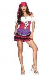 Leg Avenue Damen Kostüm Zigeuner CRYSTAL GYPSY