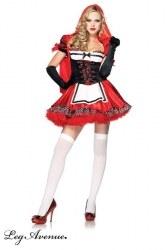 Leg Avenue Karneval Damen Kostüm Rotkäppchen Divine Miss Red
