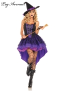 Leg Avenue Karneval Halloween Damen Kostüm Hexe BROOMSTICK BABE