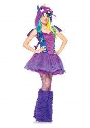 Leg Avenue Karneval Halloween Damen Kostüm Darling Drache