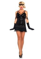 Leg Avenue Karneval Damen Kostüm Charleston Flapper Glam