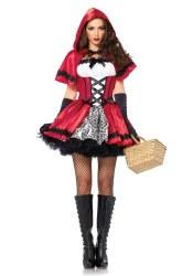 Leg Avenue Karneval Damen Kostüm Gothic Rotkäppchen