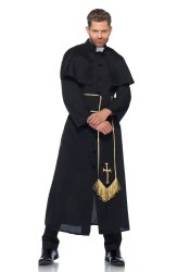 Leg Avenue Herren Kostüm Priester