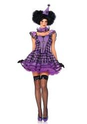 Leg Avenue Karneval Damen Kostüm Pariser Clown