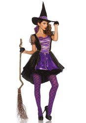 Leg Avenue Halloween Damen Kostüm Hexe Crafty Vixen