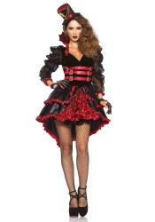 Leg Avenue Karneval Halloween Damen Kostüm Victorian Vamp