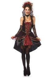 Leg Avenue Karneval Halloween Damen Kostüm Vampire Queen