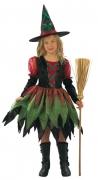 Karneval Halloween Mädchen Kostüm Hexe FAIRY WITCH