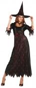 Karneval Halloween Damen Kostüm Hexe SKULL WITCH