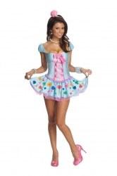 Karneval Damen Kostüm Sweatheart
