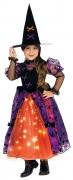 Karneval Halloween Mädchen Kostüm Hexe PRETTY WITCH