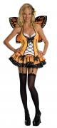 Karneval Damen Kostüm Schmetterling FANTASY BUTTERFLY