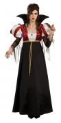 Karneval Halloween Damen Kostüm Royal Vampira