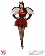 Widmann Karneval Halloween Damen Kostüm TEUFELIN