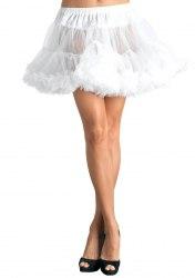 Leg Avenue Damen Petticoat XL Tüllrüschen Farbwahl