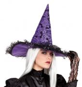 Karneval Halloween Hexenhut AMARANTHA
