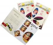 JOFRIKA Kinder Schminkbuch SCHMINKIDEEN FÜR KIDS